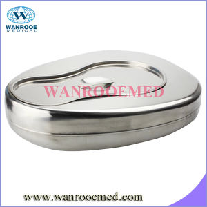 Stainless Steel Bed Pan with Lid pictures & photos
