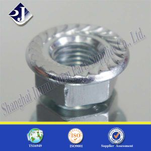 Carbon Steel Zinc Hex Flange Nut pictures & photos