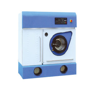 Leather & Textile Dry Cleaning Machine PCE Solvent Laundry Capacity 10kg pictures & photos