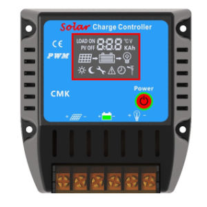 Solar Charge Controller with LCD Display pictures & photos