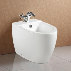 Fancy Design Floor Standing CE Approval Ceramic Bidet