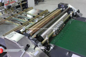 Automatic Paper Pasting Machine for Rigid Box Making (YX-650A) pictures & photos