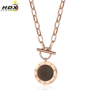 Stainless Steel Double Shell Necklace Jewelry Fashion Jewelry (hdx1068) pictures & photos