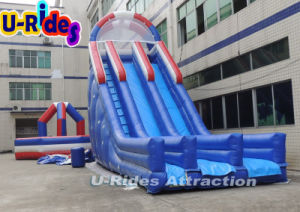 10m height Inflatable Water Slide with Pool pictures & photos