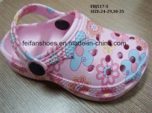 Cheap Children Cartoon EVA Clog Fashion Garden Shoes Slipper (FBJ517-5) pictures & photos