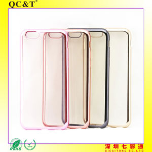 Hot Selling Electroplating Mobile Phone TPU Case for 6g/S