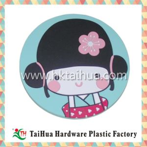 High Quality Soft PVC Cartoon Cup Mat with Thc-007 pictures & photos