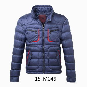 Men′s Calandered Nylon Padding Winer Jacket (15-M049) pictures & photos