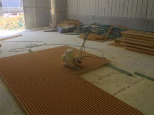 Tec-Sieve Moulded FRP/GRP Grating Panels pictures & photos