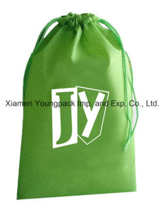 Custom Non-Woven Drawstring Promotional Bag for Laundry pictures & photos