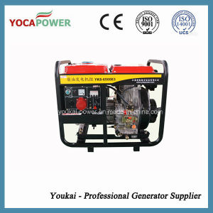 Three Phase 5kw Small Open Power Diesel Generator Set pictures & photos