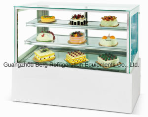 Ce Approve 2.4m Vertical Type Marble Cake Display Refrigerator with Ce pictures & photos