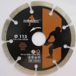 Segmented Diamond Blade for Construction 125mm