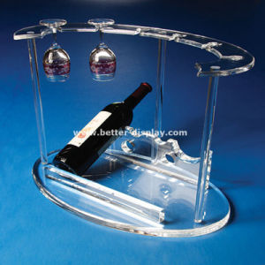 Wholesale Acrylic Hanging Wine Glass Rack pictures & photos