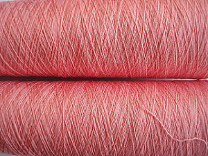 Silk Cotton Blenched Fiber Dyed Yarn pictures & photos