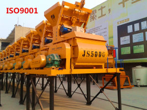 Electric Portable Concrete Mixer (JS500) pictures & photos
