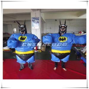 Amazing Design Bat Man Theme Sumo Suit Costume for Sale pictures & photos