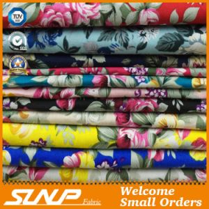 Women 100% Cotton Plain Weave Printing Fabric