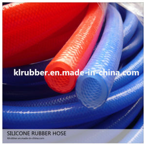 Food Grade Color Silicone Braided Hose for Milk Machine pictures & photos