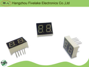 "0.4"" Dual Digits 7 Segment LED Display Module (WD04021-E/F) pictures & photos"