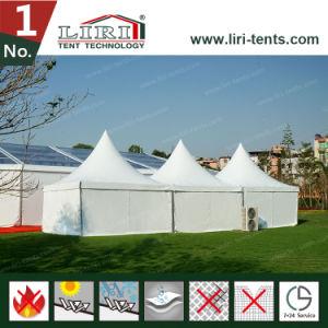 5X5m Luxury High Peak Waterproof Aluminum Gazebo Party Tent pictures & photos