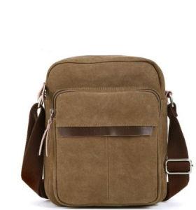 2014 New Canvas Single Man Shoulder Bag pictures & photos