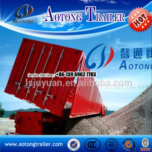 Two Axles Tipper Semi Trailer for Sale pictures & photos
