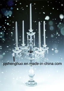 Wedding Crystal Candle Stand for Decoration on Sale