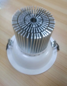 Alu. LED Lamp Heatsink Made of Cold Forging pictures & photos