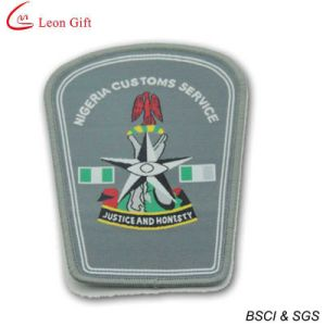 Hot Sale Embroidery Badge Police Embroidery Patches (LM1580) pictures & photos