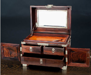 100% Handworks Rosewood Dressing Box pictures & photos