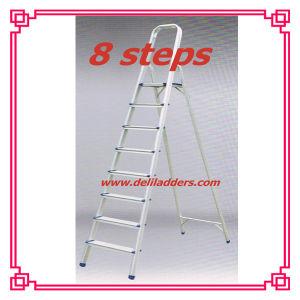 Aluminium 8 Step Ladder/Scaffolding Ladder pictures & photos