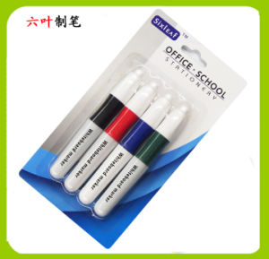 4pk Whiteboard Marker Pen, Stationery, Dry Erase Markers, SL-403 pictures & photos