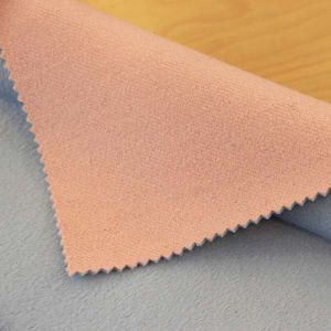 Velvet Wool Laminated Fabric for Coat