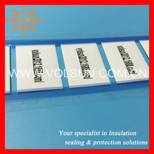 Zero Halogen Permanent Printed Heat Shrink Cable Markers pictures & photos