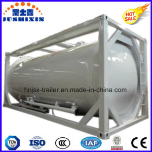 Tri-Axles Heavy Duty Tank Container for Transporting Crude Oil/Diesel/ Petrol Fuel pictures & photos