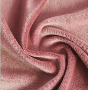 Bamboo Cotton Knitted Velour Fabric pictures & photos