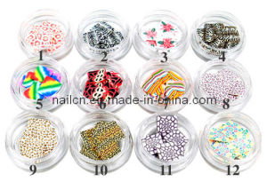 Nail Art, 3D Deco, Nail Ceramic, Soft Ceramic Flower pictures & photos