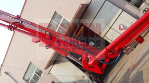 Dw-21m Meters New Station Truck Concrete Pump Boom Concret Delivery Pump Car Truck Mounted Concrete Boom Pump Sinotruck Chassis pictures & photos