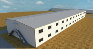 Prefabricated House for Labor Accommodation pictures & photos