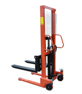 Hydraulic Hand Stacker and Lift Stacker pictures & photos