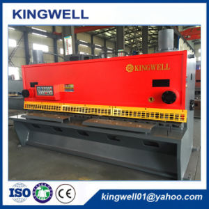 Ce Guillotine Hydraulic Shearing Machine for Metal Plate (QC11Y-12X3200) pictures & photos