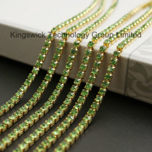 Factory Supply Ss18 Crystal Diamond Rhinestone Cup Chain pictures & photos
