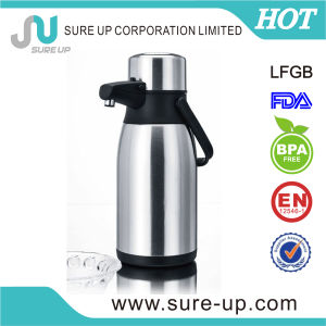 Special Shape Stainless Steel Vacuum Coffee Pot 2.2L pictures & photos