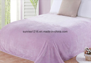 Hot Sale Sr-B170212-16 Super Soft Solid Flannel Fleece pictures & photos