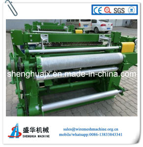 Galvanized Rolled Welded Wire Mesh Machine pictures & photos