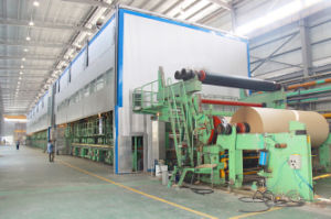 3200mm Type Big Capacity 100 T/D Corrugating Paper Making Machine Using Waste Paper as Raw Material pictures & photos