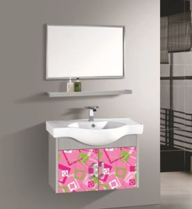 Wall Mounted Bathroom Basin Stainless Steel Bathroom Vanities pictures & photos