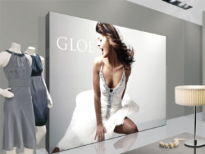 Fabric Backlit LED Sign for The Clothing Store Picture Frame Display pictures & photos