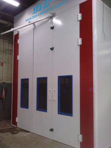 European Design 8m Long Spray Painting Cabin pictures & photos